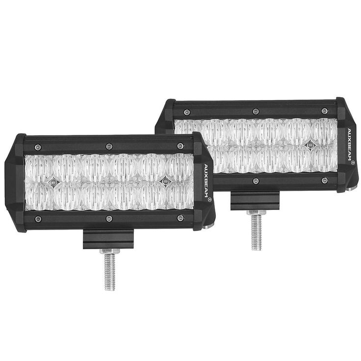 Illuminate your way through the dark with a fish eye lens and reflector combination that offers bright illumination in close distance. The IP67-rated CREE LED on this truck LED light bar is dust-proof