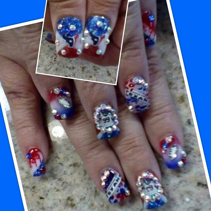Houston Texans nails jjwatt pics