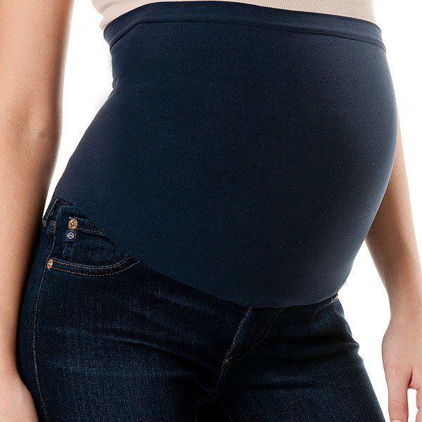 Black The Stilt Maternity Skinny Jeans