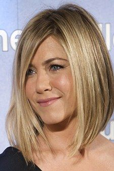 "If there's any hair justice, Aniston's ""lob""—or long bob—will end up being more imitated than the ""Rachel."" ""This is one of the new classics,"" says hairstylist Tommy Buckett of the Marie Robinson Salon. ""It's chic and superflattering thanks to all the length in the front, and it can soften a strong jaw like Jen's or thin out a round face."" The term ""lob"" is hardly exact, so be clear about your desired length—or better yet, bring a photo to your salon appointment. Then reiterate a few points…"