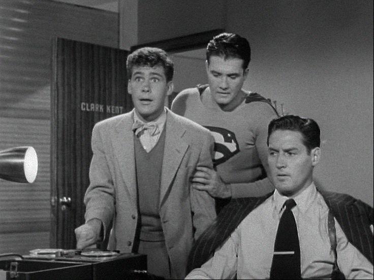 Adventures of Superman: Season 1, Episode 21 The Human Bomb (6 Feb. 1953) George Reeves, Jack Larson