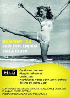 BUSCANOS EN FACE!!!!  M&G ESTETICA INTEGRAL