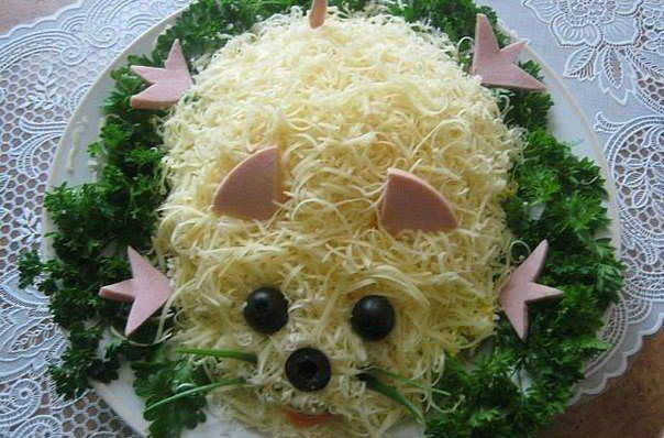 Salad «Mouse»