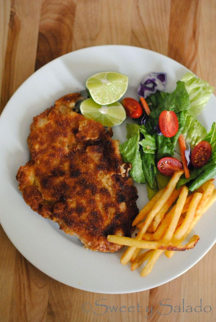 Chuleta Valluna (Colombian Pork Milanese) | Hispanic Kitchen