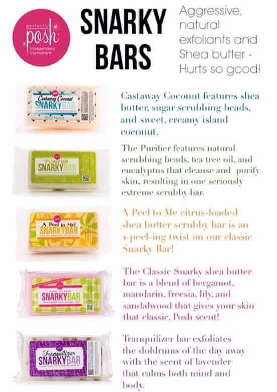 They exfoliate, they moisturize! They make you feel amazing! Love my Snarkys! https://bberryhill.po.sh/