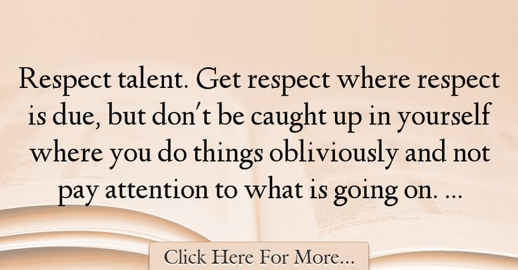 Robert Griffin III Quotes About Respect - 59980