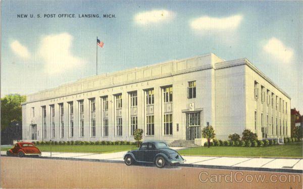 Lansing MI New U. S. Post Office