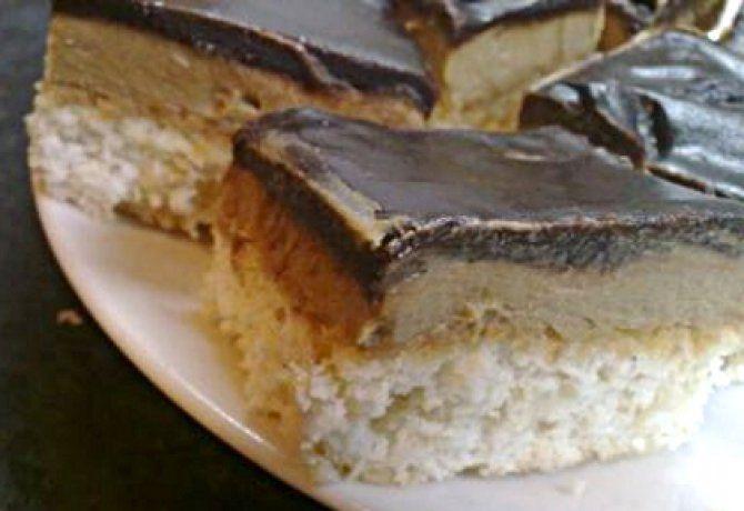 Kávés-kókuszos süti