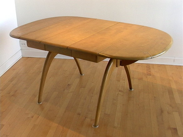 Heywood Wakefield Double Wishbone Table