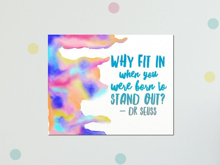 """Thanks for the kind words! ★★★★★ """"Love it!! It looks great in my daughter's room."""" Cole P. #quoteartcanvas #drseussquoteart #drseusscanvasart #inspirational http://etsy.me/2Cv1A46"""