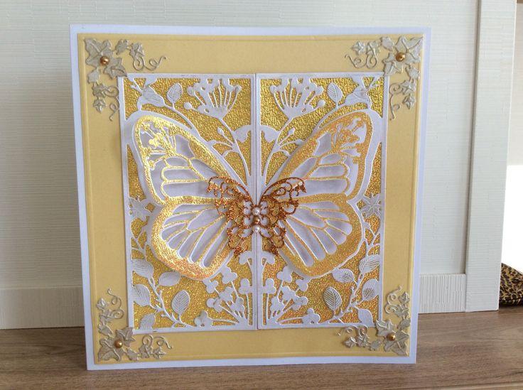 Couture Creation Mariposa dies with Sue Wilson Greek die corners