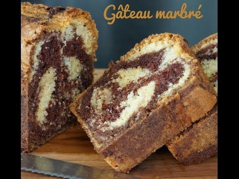 Recette du gâteau marbré facile et moelleux (Eng. Sub : marble cake) - YouTube