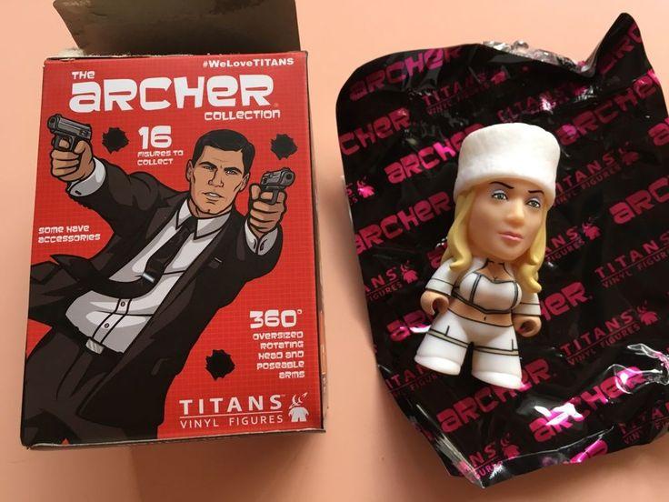 "Titans Archer Blind Box Collection Mini Series Katya Kazanova 3"" Vinyl Figure #Titan"
