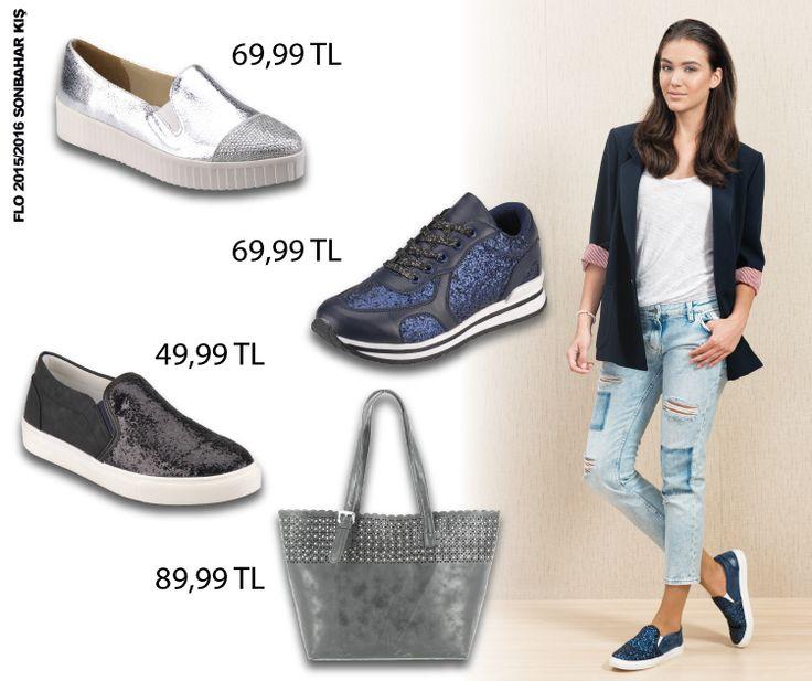 Parlak ve göz alıcı detaylar her modele uyum sağlamayı başarıyor! #AW1516 #newseason #autumn #sonbahar #yenisezon #fashion #fashionable #style #stylish #flo #floayakkabi #shoe #ayakkabı #shop #shopping #women #womenfashion  #trend #moda #ayakkabıaşkı #shoeoftheday #parlak #ışıltılı #glitter #sparkle