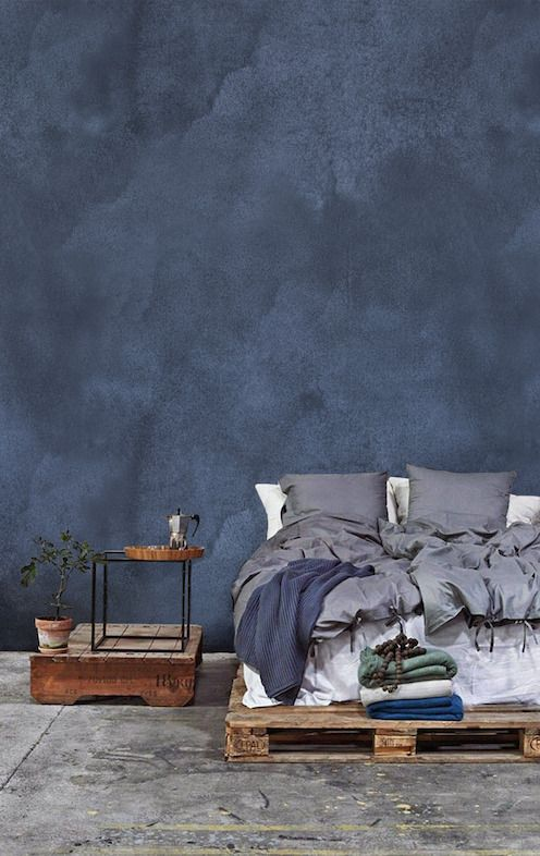 Behanginspiratie Denim Drift