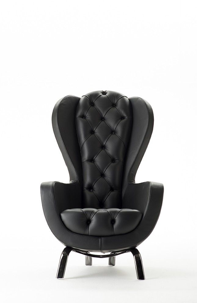 GUELFO WING BACK CHAIR. For more information contact us at info@radform.com