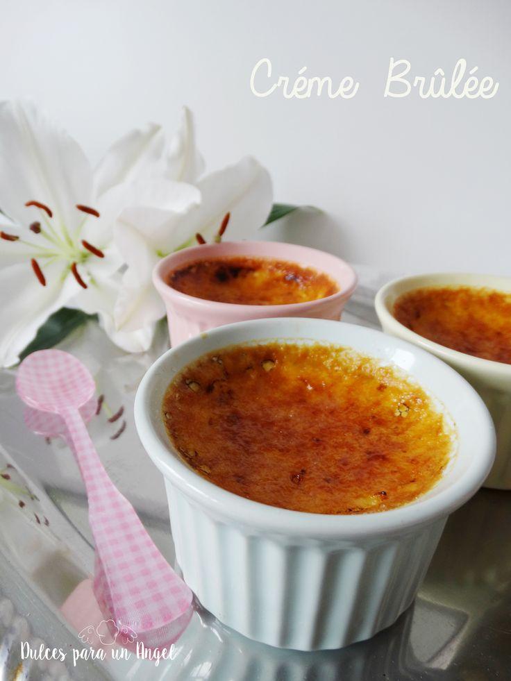 Dulces para un Angel: Crème Brûlée