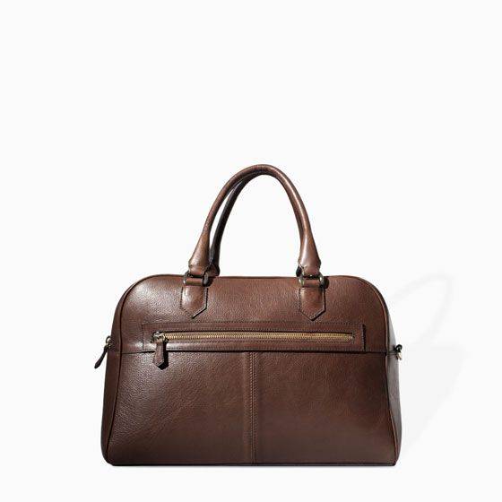 LIMITED EDITION BOWLING BAG from Zara