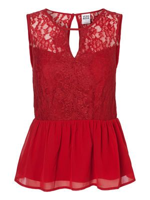 JOSEFINE LACE S/L TOP Holiday Countdown contest. Pin to win the style!