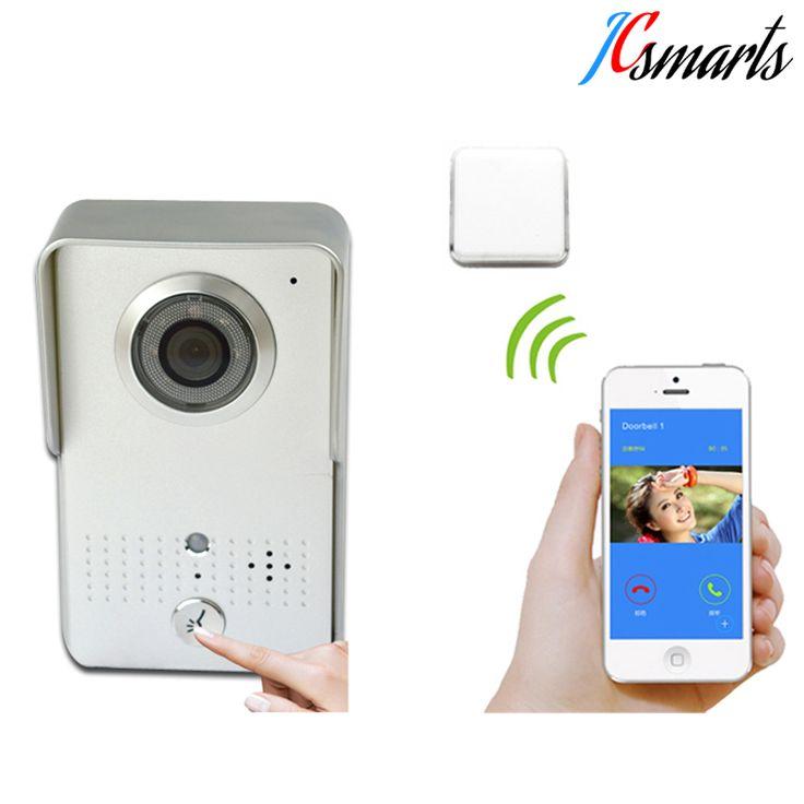 Smart Door Eye Recording Wifi video Door Bell With Camera Wireless Video Door Phone