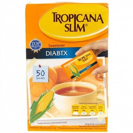 TROPICANA SLIM DIABTX 50 X 2G : Rp 32.900