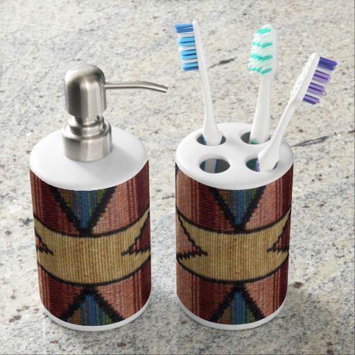 Die besten 25+ Southwestern toothbrush holders Ideen auf Pinterest - badezimmer accessoires set