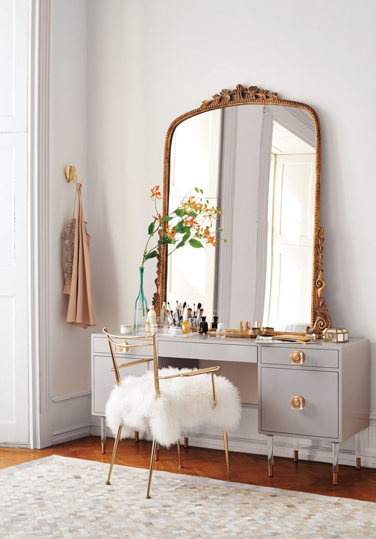 17 Best Ideas About Mirrored Vanity On Pinterest Mirrored Vanity Table Mak