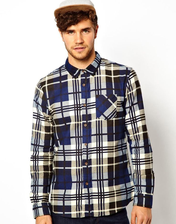 New Look  Flannel Shirt With Check