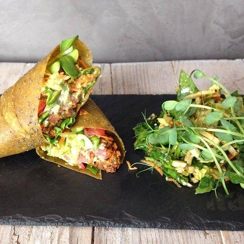 Nama | Raw and entirely vegan. Go for a falafel wrap, or be brave and try a pizza. Nearest station: Westbourne Park 21 Unmissable Vegan Places In London