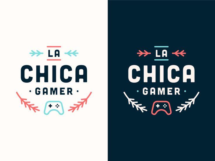 La Chica Gamer [#1 Concept   Wip]. Graphic Design ...