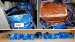 Swedish police found 400lbs (180kg) of cannabis in a van in Stockholm