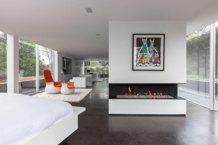 CHEMINEE gaz foyer ouvert : modèle URBAN Gaz fireplace Metalfire