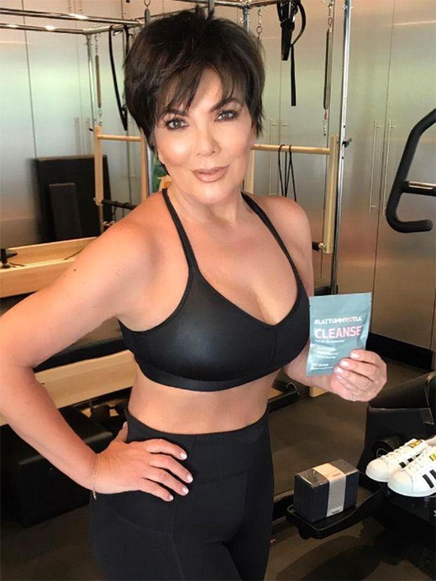 Kris Jenner Naked