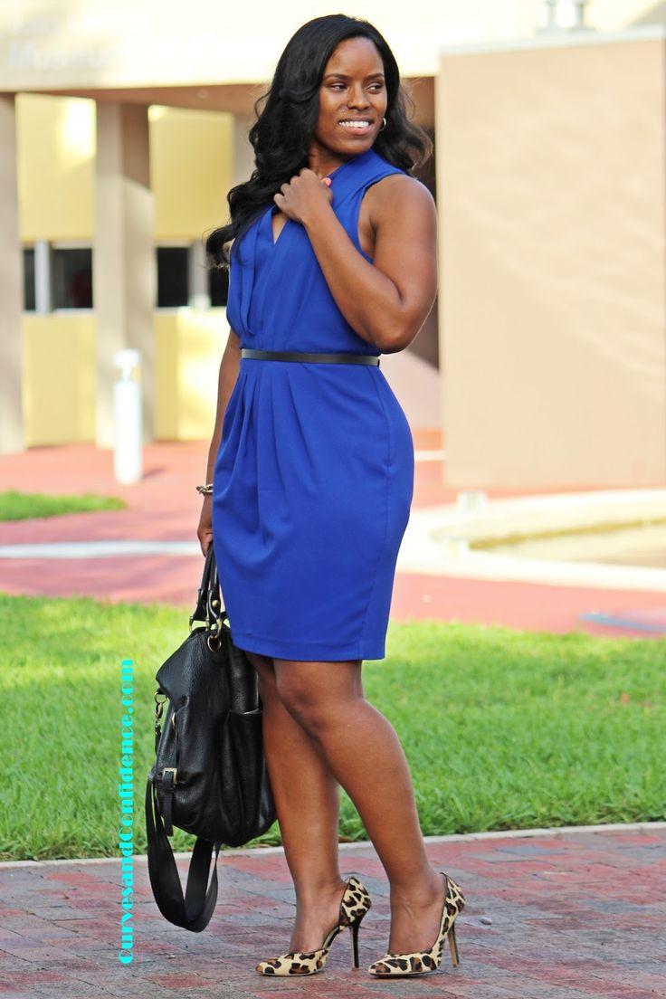 Curves and Confidence | Work Wear | Leopard Pumps | #HM Dress | @hm |