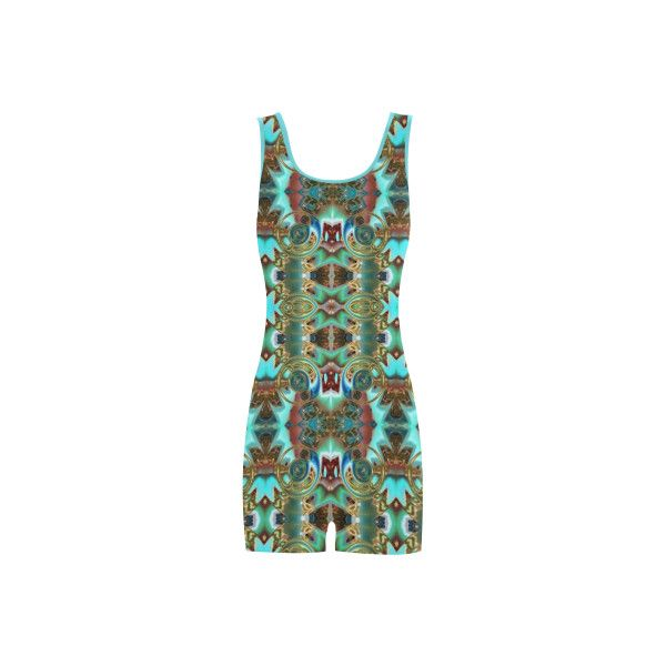 Annabellerockz-spring-green-one piece-swimsuit Classic One Piece... (230 NOK) ❤ liked on Polyvore featuring swimwear and one-piece swimsuits