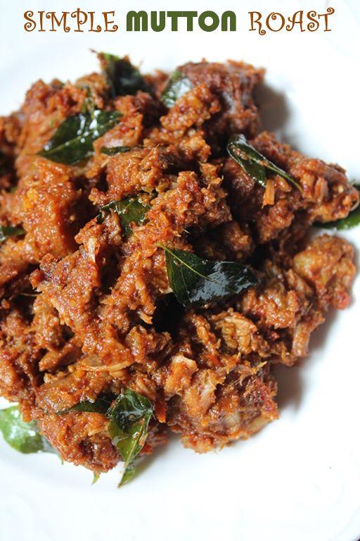 YUMMY TUMMY: Simple Mutton Roast Recipe / Kerala Mutton Roast Recipe