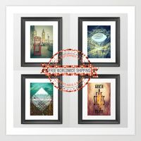 Get Free Worldwide Shipping on any order of my store. This offer expires on Sept 14, 2014...Get yours!:)   Click on the promo link: http://society6.com/AlexandraVaughanP...omo=dc9c73
