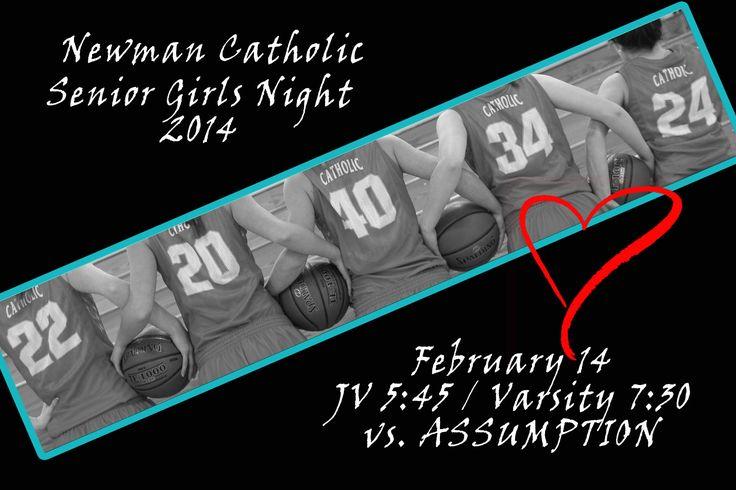 Senior Girls Basketball Night