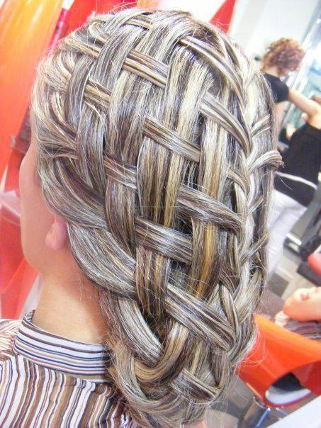 How To Make A Basket Weave Hairstyle : Best basket weave braid ideas on