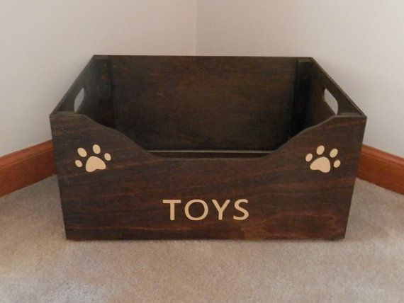 Hey I Found This Really Awesome Etsy Listing At Https Www Etsy Com Listing 512621381 Dog Toy Box Rustic Dog Toy Dog Toy Box Dog Toy Storage Rustic Dog Toys