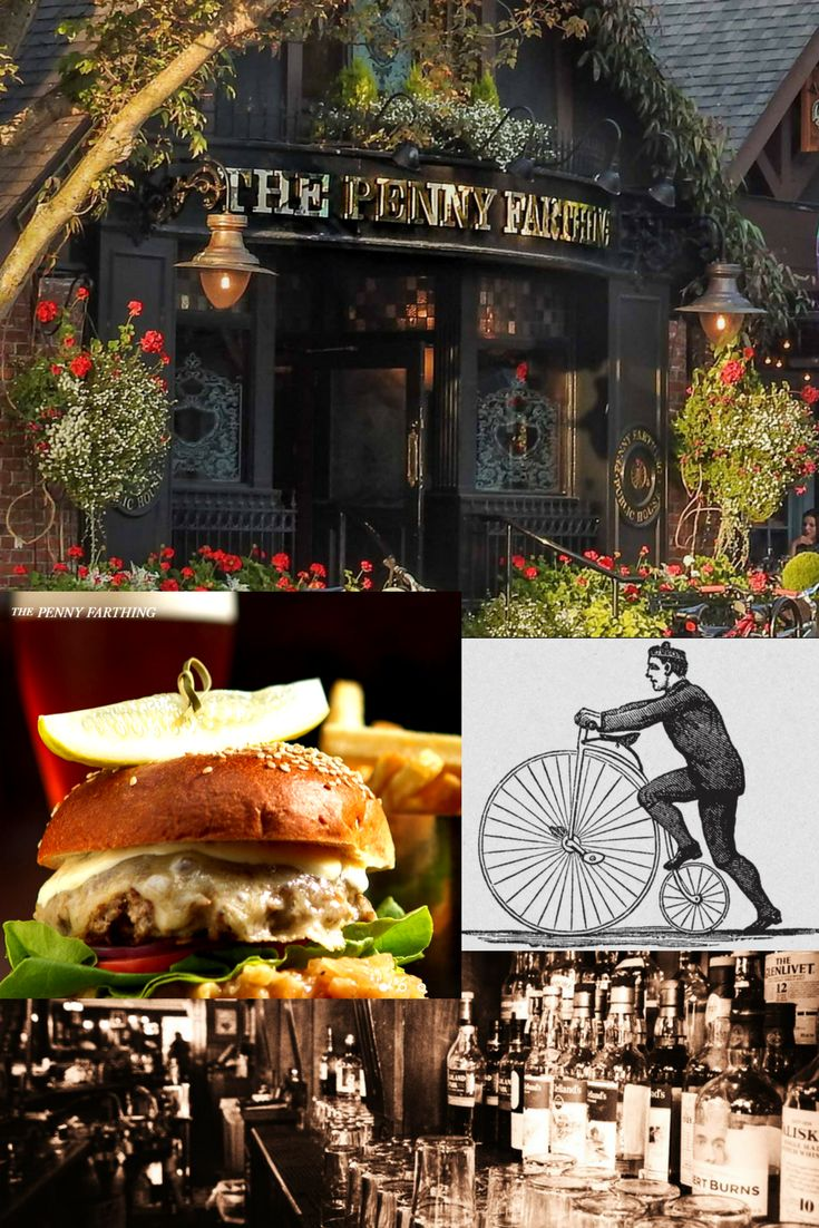 The Penny Farthing Pub lic House an easy stroll from 1572 Monterey Home For Sale in Oak Bay ~ ask Ivan Delano PREC sutton group west coast realty for all the extras 250-744-8506