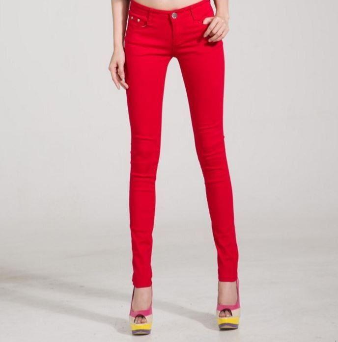Veselé dámské barevné podzimní džíny kalhoty červené – Velikost 30 Na tento produkt se vztahuje nejen zajímavá sleva, ale také poštovné zdarma! Využij této výhodné nabídky a ušetři na poštovném, stejně jako to udělalo již …