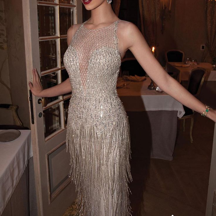 Cheap dress and style dora, Buy Quality dress shaw directly from China dress mouse Suppliers: 		Fancy Glitter Long Evening Dress Luxury Rhinestone Tassel Great Gatsby Dress Women Abendkleider 2016 Formal Mermaid Pr