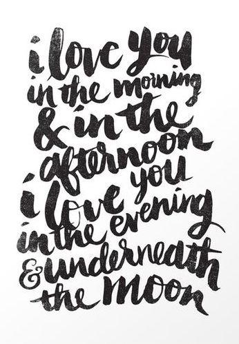 Love Declaration Art Print