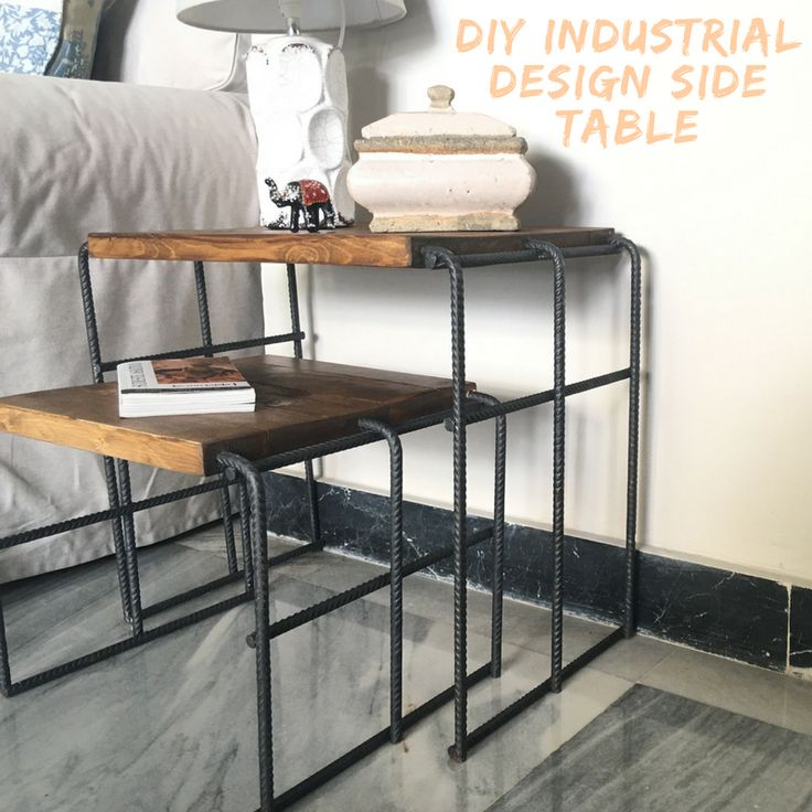 Build Industrial Coffee Table: 25+ Best Ideas About Industrial Side Table On Pinterest