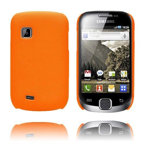 SuperGrip (Oranssi) Samsung Galaxy Fit Suojakuori