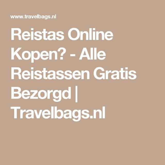 Reistas Online Kopen? - Alle Reistassen Gratis Bezorgd | Travelbags.nl