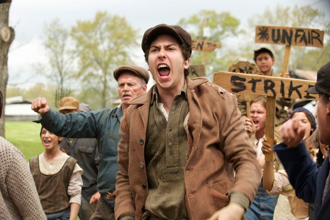 In Dubious Battle: A Film Festival Viewer Compares Steinbeck's Novel and James Franco's Movie Adaptation: http://www.steinbecknow.com/2016/10/18/in-dubious-battle-film-festival-james-franco/