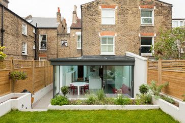 Lots of glazing on this extension