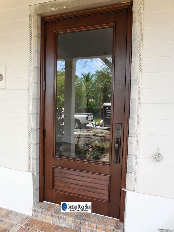 Fresh Impact Rated Entry Doors